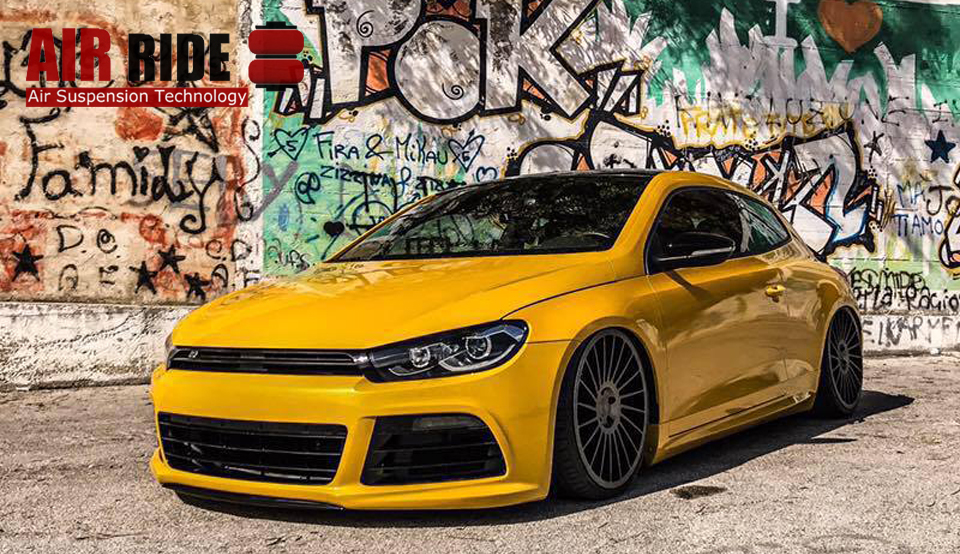 air lift performance vw scirocco david airride air suspension and air management systems. Black Bedroom Furniture Sets. Home Design Ideas