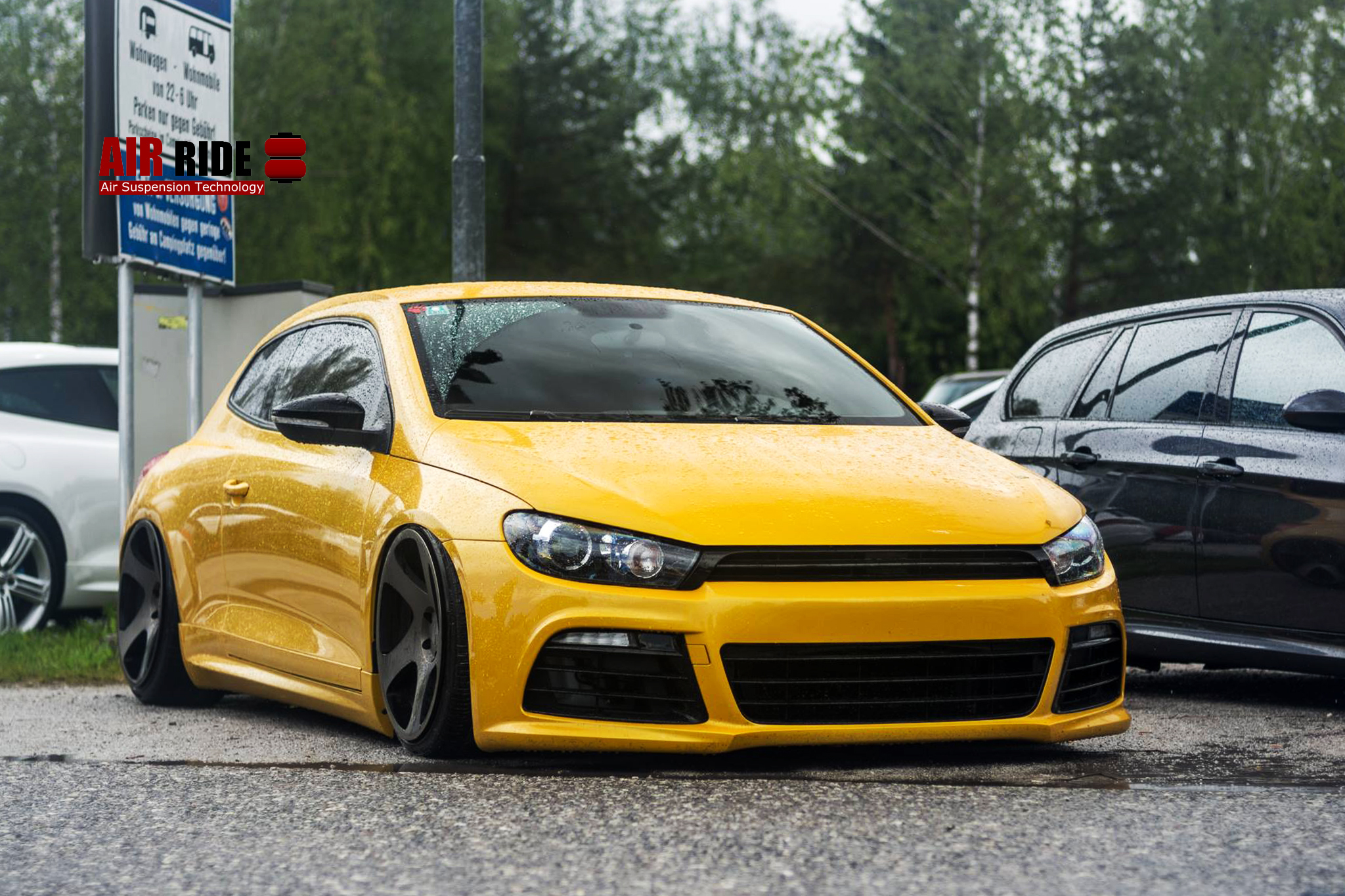 air lift performance series vw scirocco moreno airride air suspension and air management systems. Black Bedroom Furniture Sets. Home Design Ideas